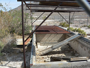 Devils Hole pupfish - Pupfish refuge at School Springs, now defunct.