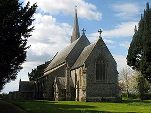 Ashford Hill with Headley - Image: Ashford Hill Church