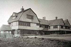 "Wilson Eyre - ""Farwood"" (Richard L. Ashhurst house), Overbrook, PA (1884–85, demolished)."