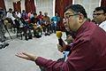 Ashwin Baindur - Open Discussion - Collaboration among Indic Language Communities - Bengali Wikipedia 10th Anniversary Celebration - Jadavpur University - Kolkata 2015-01-10 3209.JPG
