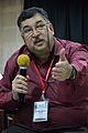 Ashwin Baindur - Open Discussion - Collaboration among Indic Language Communities - Bengali Wikipedia 10th Anniversary Celebration - Jadavpur University - Kolkata 2015-01-10 3219.JPG