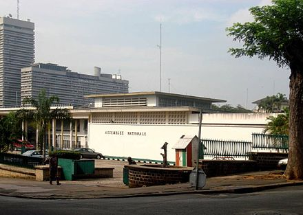 Assembleia Nacional da Costa do Marfim em Abidjan. - Costa do Marfim