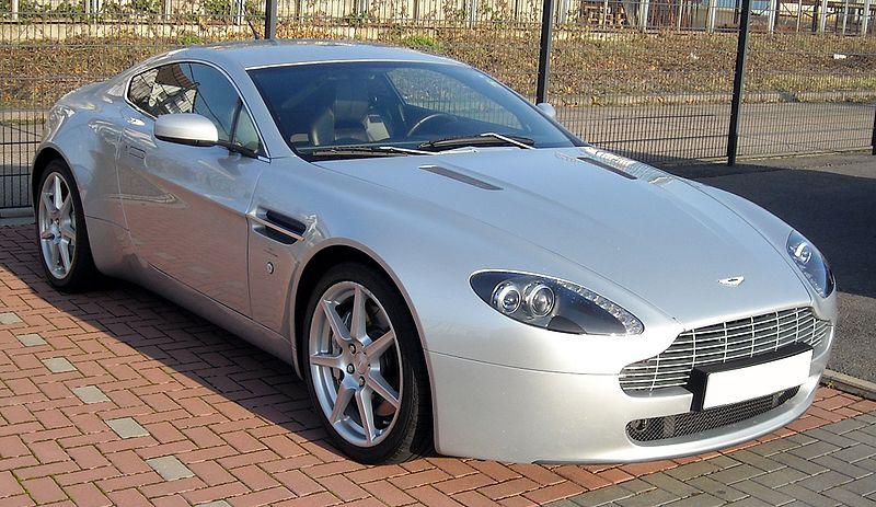 Ficheiro:Aston Martin V8 Vantage front 20081129.jpg