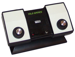 Tele-Games Pong