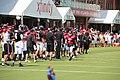 Atl Falcons training camp July 2016 IMG 7771.jpg