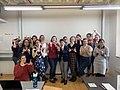 Attendees of Wikidata Workshop at Pratt Institute, School of Information.jpg
