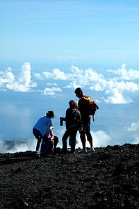 Туристы на острове реюньон