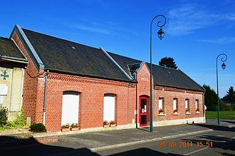 Aubigny-aux-Kaisnes - The Town Hall