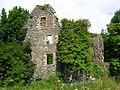 Auchans Castle Ayrshire East gable end.JPG