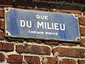 Auchel - Cités de la fosse n° 3 - 3 bis - 3 ter des mines de Marles (078).JPG