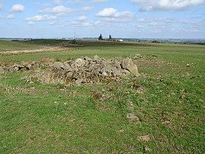 Auchencloigh Castle (Ruin) - geograph.org.uk - 398532