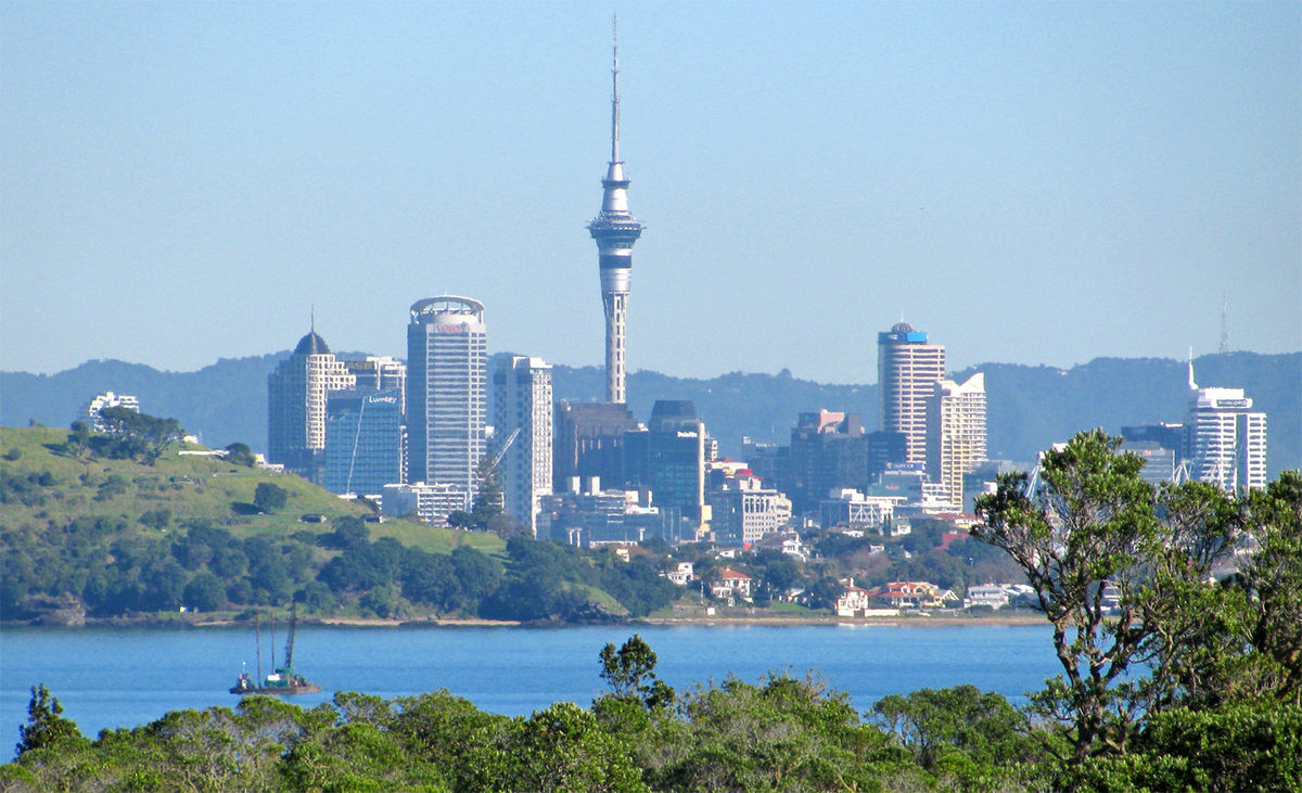 Auckland Central Business District — Wikipédia