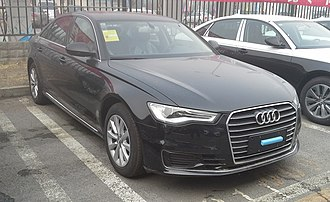 FAW-Volkswagen - Image: Audi A6L C7 facelift 2 China 2016 04 13