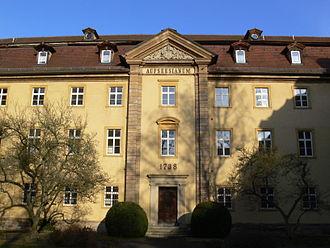House of Aufseß - Jobst Bernhard von und zu Aufsees was the founder of the Aufseesianum in Bamberg