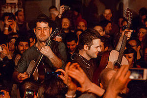 Augustines (band) - Augustines at the Bowery Ballroom