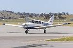 Australian Airline Pilot Academy (VH-XDH) Piper PA-28-161 Cherokee Warrior III taxiing at Wagga Wagga Airport.jpg
