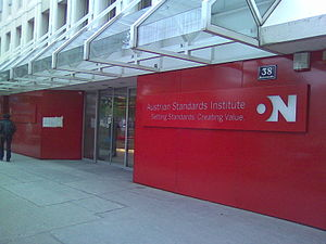 Austrian Standards Institute - Image: Austrian Standards Institute