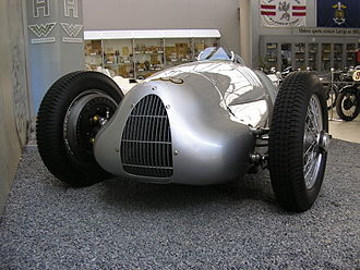 Georg Meier - 1938 Auto-Union V12 type D saved from being cut up for scrap metal