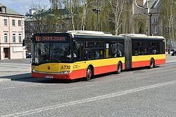 Autobus 180 plac Krasińskich w Warszawie
