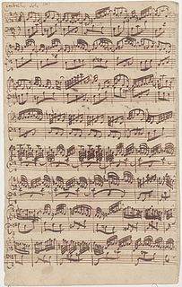 Partita for keyboard No. 6 (Bach) partita for keyboard by Johann Sebastian Bach