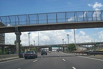 Avenida General Paz - Image: Avenida General Paz y Acceso Oeste
