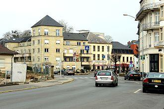 Mondorf-les-Bains - Image: Avenue Frantz Clément, Munneref 101