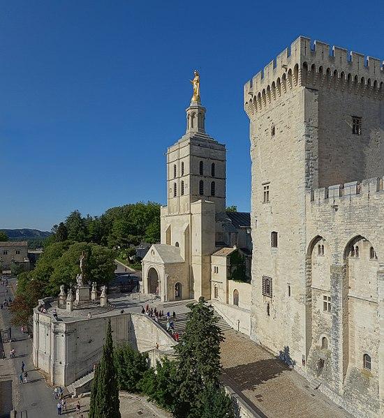 Кафедральный собор Notre Dame des Doms (Авиньонский собор)