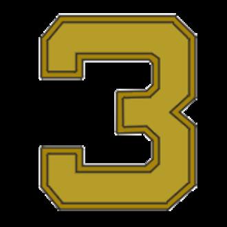 Richard A. Cody - Image: Award numeral 3