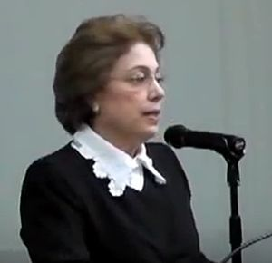 Hypatia (journal) - Azizah Y. al-Hibri, the first editor, pictured in 2012