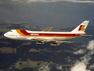 Boeing 747 American wide-body long–range commercial jet aircraft