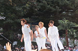 Highlight (band) - Beast at the 2010 Mnet 20's Choice Awards, in August 2010