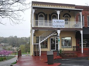 National Register of Historic Places listings in Habersham County, Georgia - Image: BARON YORK BUILDING, HABERSHAM COUNTY