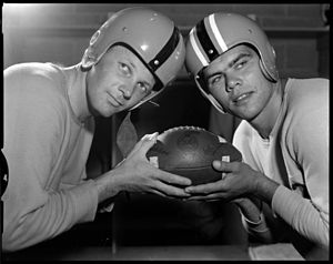 Maury Duncan - Maury Duncan (left) in 1957