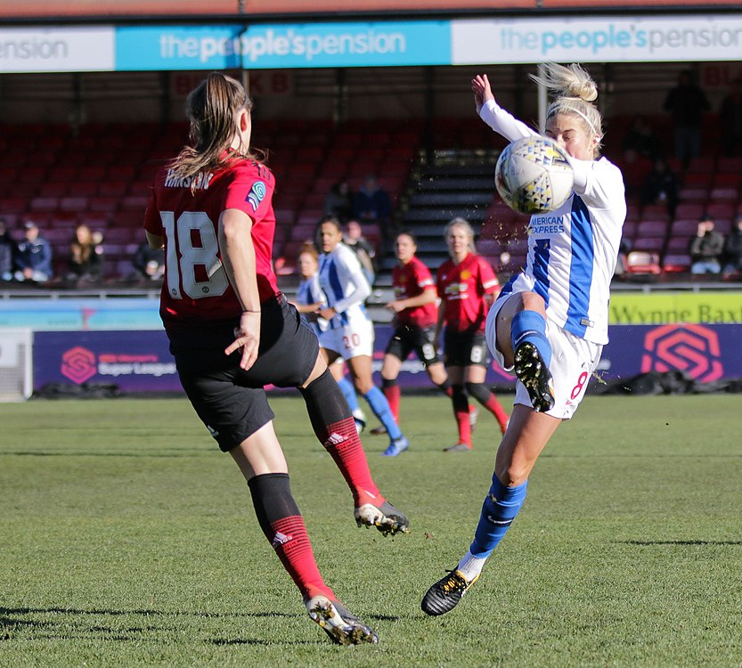 BHA Women 0 Man Utd Women 2 WFAC 4th rd 03 02 2019-382 (46072259165).jpg