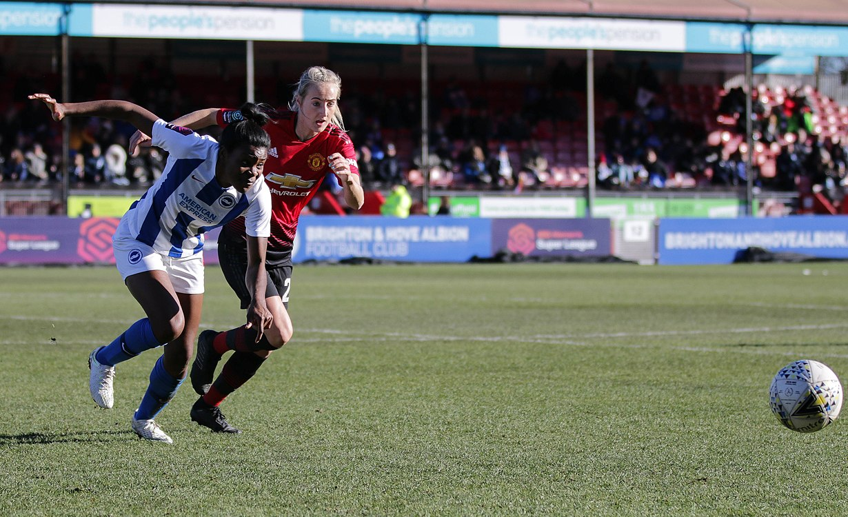 BHA Women 0 Man Utd Women 2 WFAC 4th rd 03 02 2019-671 (46934172242).jpg