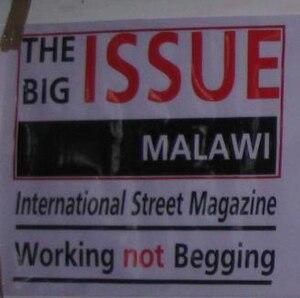 The Big Issue Malawi - The Big Issue Malawi Slogan