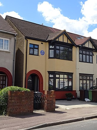 Bobby Moore - Moore's childhood home, 43 Waverley Gardens, Barking, London