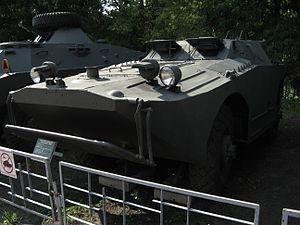 BRDM-1 armored scout car at the Muzeum Polskiej Techniki Wojskowej in Warsaw (1).JPG