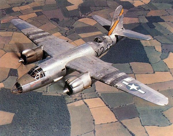 The Aircraft Was Assigned To 596th Bomb Squadron 397th Group98th Wing
