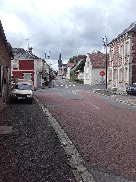 Vue de Baboeuf depuis la rue Martin