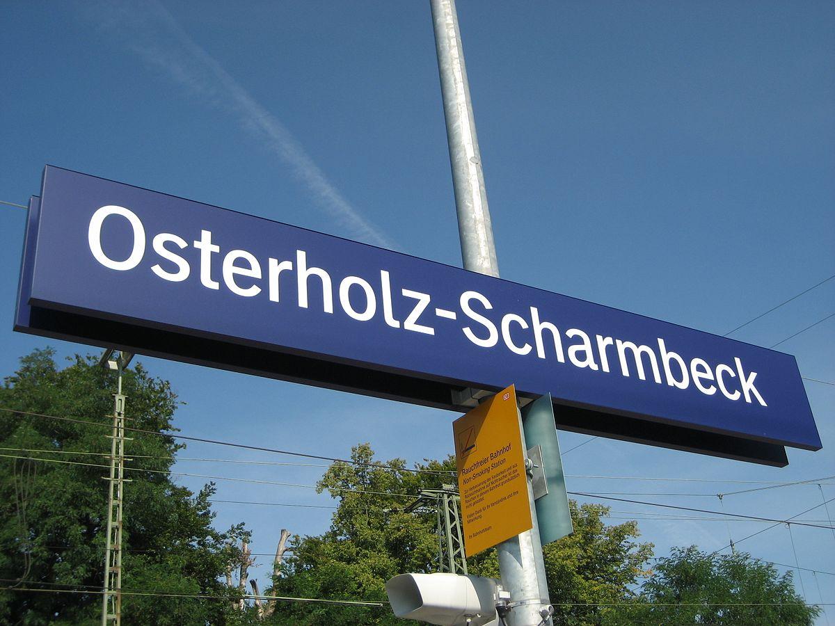 osterholz scharmbeck railway station wikidata. Black Bedroom Furniture Sets. Home Design Ideas