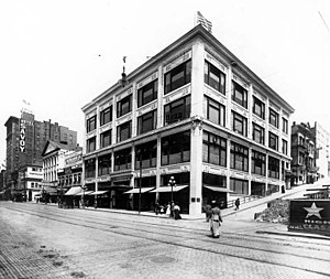 Federal Reserve Bank Building (Seattle) - Image: Baillargeon Building, northeast corner of 2nd Avenue and Spring Street, Seattle
