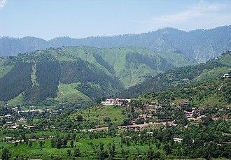 Balakot - Image: Balakot in spring