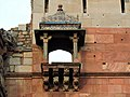 Balcony style of enterance of Purana Qila or old fort, Delhi 04.jpg