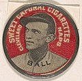 Ball, Cleveland Naps (red), from the Domino Discs series (PX7), issued by Kinney Brothers MET DP869214.jpg