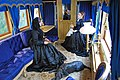 Ballater station - the interior of the Victorian railway saloon carriage - geograph.org.uk - 787317.jpg