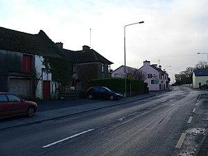 Ballinderreen - Ballinderreen village