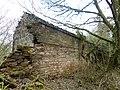 Ballochmyle walled gardens, ruins of gardener's cottage, Mauchline.jpg