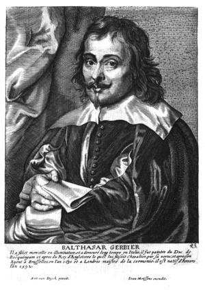 Balthazar Gerbier - Balthasar Gerbier in Het Gulden Cabinet, p 249