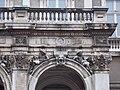 Balustrade, stuccos, Pollack Square Karolyi Mansion, 2016 Palotanegyed.jpg